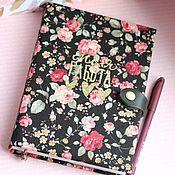 Канцелярские товары handmade. Livemaster - original item Diary Flowers. Handmade.