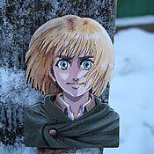 Украшения handmade. Livemaster - original item Anime characters icon. Handmade.