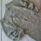 """Одежда ручной работы. Ярмарка Мастеров - ручная работа Кардиган """".Изысканный серый"""". Handmade."""