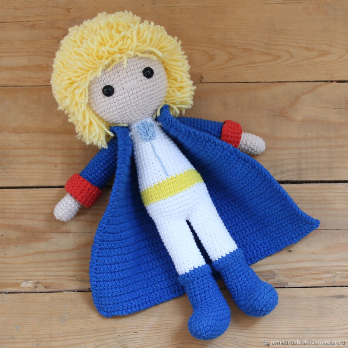 Knitted Dolls Crochet The Little Prince Toy Amigurumi Shop