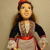 Куклы и игрушки ручной работы. Ярмарка Мастеров - ручная работа Кукла Беатриса в Греческом костюме. Handmade.