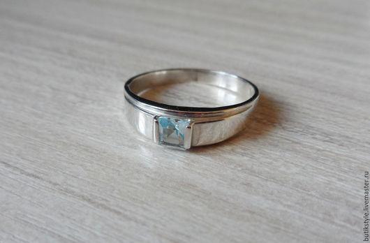 Кольца ручной работы. Ярмарка Мастеров - ручная работа. Купить Серебряное кольцо с натуральным топазом. Handmade. Серебряный, топаз натуральный