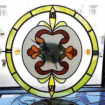 """Для дома и интерьера ручной работы. Ярмарка Мастеров - ручная работа Часы: """"Ярк!"""". Handmade."""