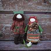 """Куклы и игрушки ручной работы. Ярмарка Мастеров - ручная работа Образ семьи Русские народные куколки """"Единодушие"""". Handmade."""
