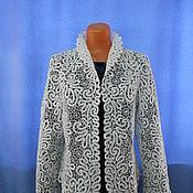 Одежда handmade. Livemaster - original item Lace jacket PAVA, Vologda lace.. Handmade.
