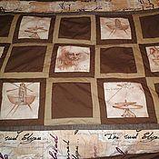 Для дома и интерьера ручной работы. Ярмарка Мастеров - ручная работа Одеяло покрывало Леонардо (23 февраля 2012). Handmade.