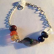 Bead bracelet handmade. Livemaster - original item Bracelet made of natural stone
