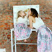 Одежда handmade. Livemaster - original item Family onion Duo of skirts