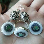 Украшения handmade. Livemaster - original item Set of amulets with OPAL-EYE of BUDDHA. Handmade.