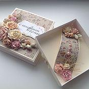 Коробочки с розами