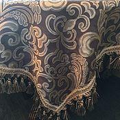 Для дома и интерьера ручной работы. Ярмарка Мастеров - ручная работа Скатерть 1,75х2,75 Шампань с серебром. Handmade.