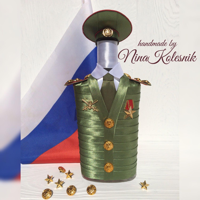 Футляр для бутылки ''богатырь'' 60012