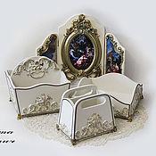 Для дома и интерьера handmade. Livemaster - original item Stand, storage box Florence. Handmade.