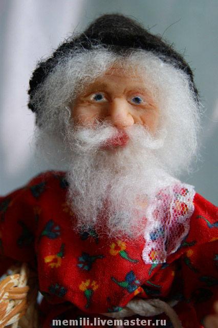 """Коллекционные куклы ручной работы. Ярмарка Мастеров - ручная работа. Купить Кукла """"Домовой"""". Handmade. Домовенок, башмачек, авторская кукла"""