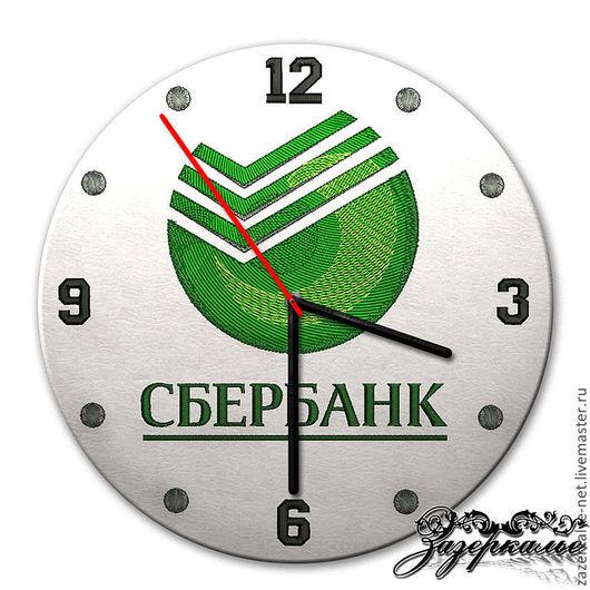 Часы для дома ручной работы. Ярмарка Мастеров - ручная работа. Купить Часы с логотипом на заказ. Handmade. Часы заказать