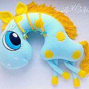 Для дома и интерьера handmade. Livemaster - original item pillow pony sonia. Handmade.