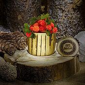 Посуда handmade. Livemaster - original item Glass natural wood Wooden glass Siberian Elm #C12. Handmade.
