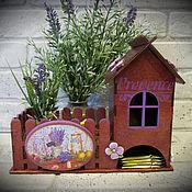 Для дома и интерьера ручной работы. Ярмарка Мастеров - ручная работа Чайный домик (№3). Handmade.