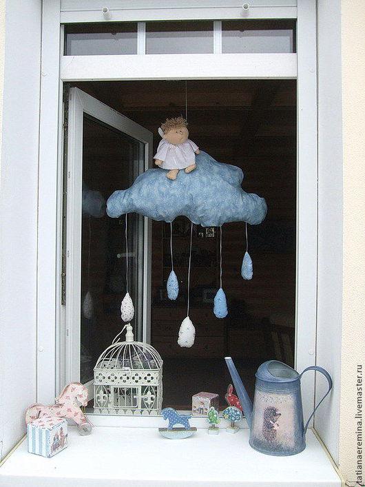 Это облако в окне... - интерьерное украшение. Работа мастера Татьяны Ерёминой.  Магазин Ассоциации. Ярмарка мастеров