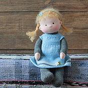 Куклы и игрушки ручной работы. Ярмарка Мастеров - ручная работа Текстильная кукла Пампушка. Handmade.