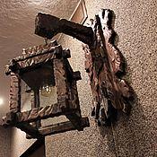 Для дома и интерьера ручной работы. Ярмарка Мастеров - ручная работа Светильник-фонарь настенный. Handmade.