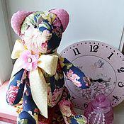 Куклы и игрушки ручной работы. Ярмарка Мастеров - ручная работа Цветочный Миша. Handmade.
