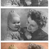 Дизайн и реклама ручной работы. Ярмарка Мастеров - ручная работа Обработка старой фотографии (оцветнение). Handmade.