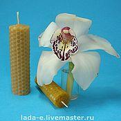 Сувениры и подарки handmade. Livemaster - original item Wax candle handmade. Handmade.