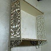 Для дома и интерьера manualidades. Livemaster - hecho a mano a large shelf under the TV. Handmade.
