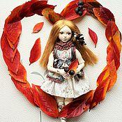 Куклы и игрушки ручной работы. Ярмарка Мастеров - ручная работа Катенька (фарфоровая шарнирная кукла). Handmade.