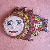 Сувениры и подарки ручной работы. Ярмарка Мастеров - ручная работа Рыба моей мечты)). Handmade.