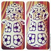 Куклы и игрушки ручной работы. Ярмарка Мастеров - ручная работа Бегемотик африканский из мотивов. Handmade.