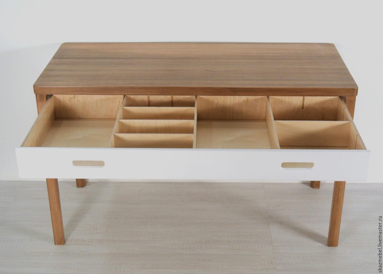 Как сделать стол с ящиками 142