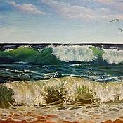 Картины ручной работы. Ярмарка Мастеров - ручная работа Запах моря, шум прибоя. Handmade.