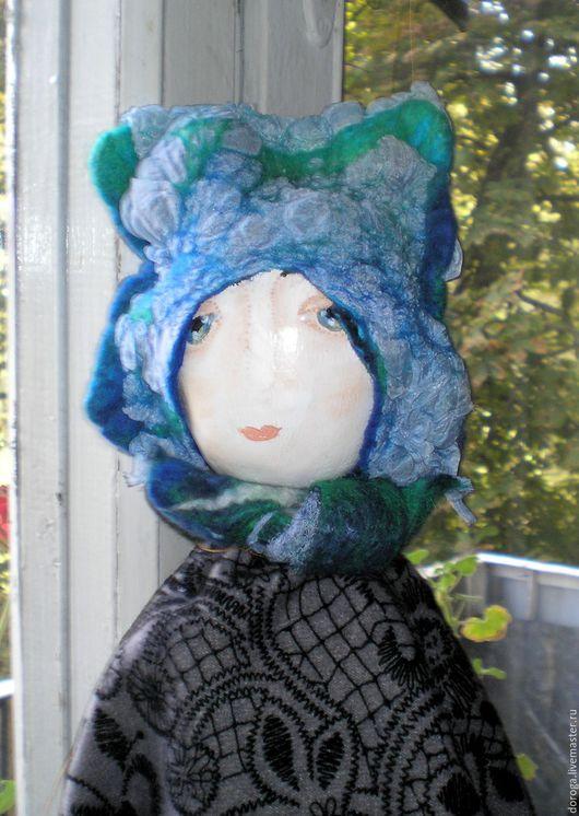 Коллекционные куклы ручной работы. Ярмарка Мастеров - ручная работа. Купить Девочка. Handmade. Подарок, папье-маше, шерсть