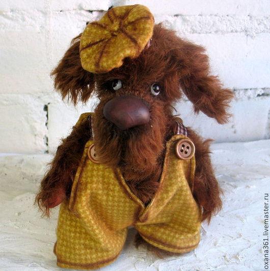 """Мишки Тедди ручной работы. Ярмарка Мастеров - ручная работа. Купить Собака Друзья Тедди  """"Собачка Томми """". Handmade."""