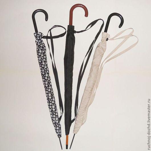 Зонты ручной работы. Ярмарка Мастеров - ручная работа. Купить Чехлы для зонтов-тростей универсальные. Handmade. В горошек