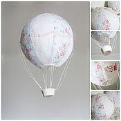 Для дома и интерьера ручной работы. Ярмарка Мастеров - ручная работа Текстильный воздушный шар. Handmade.