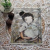 Картины и панно ручной работы. Ярмарка Мастеров - ручная работа Репродукции А5. Handmade.