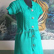 Одежда handmade. Livemaster - original item Knitted summer dress Summer. Handmade.