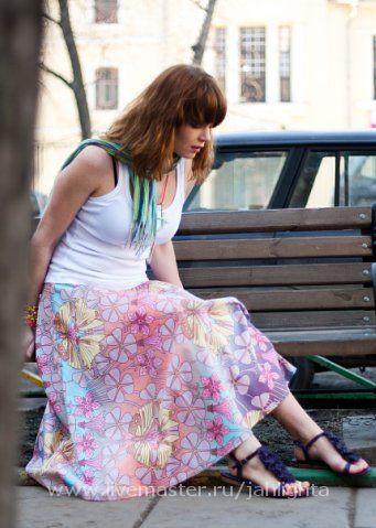 Ethnic Clothing handmade. Livemaster - handmade. Buy Skirt Paska).Skirt, cotton
