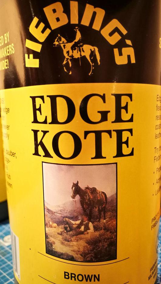 Другие виды рукоделия ручной работы. Ярмарка Мастеров - ручная работа. Купить EDGE KOTE (КОРИЧНЕВЫЙ, ЧЕРНЫЙ). Handmade. Черный