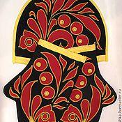 """Для дома и интерьера ручной работы. Ярмарка Мастеров - ручная работа Набор для кухни """"Хохлома"""". Handmade."""