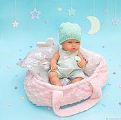 handmade. Livemaster - original item Baby carrier for dolls 26-30 cm.. Handmade.
