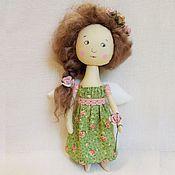 Куклы и игрушки ручной работы. Ярмарка Мастеров - ручная работа Фея роз.Текстильная кукла фея.Подарок на 8 марта.. Handmade.