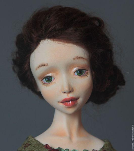 Коллекционные куклы ручной работы. Ярмарка Мастеров - ручная работа. Купить Подвижная кукла Варвара. Handmade. Комбинированный, интерьерная кукла