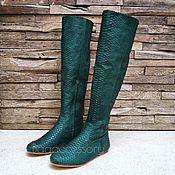 Обувь ручной работы handmade. Livemaster - original item Boots genuine Python leather. Handmade.