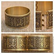 Украшения handmade. Livemaster - original item Bracelet hinged Kiev, 1903. brass. Handmade.