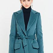 Одежда handmade. Livemaster - original item Green coat. Handmade.