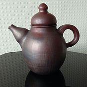 """Посуда ручной работы. Ярмарка Мастеров - ручная работа Чайник """"Для чёрного чая и не только"""". Handmade."""